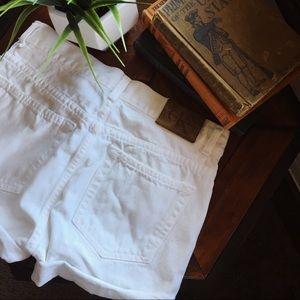 Vintage High waisted Calvin Klein Button Shorts